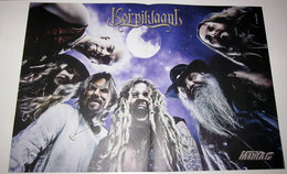 MINI DOPPIO POSTER KORPIKLAANI - IN THIS MOMENT - Affiches & Posters