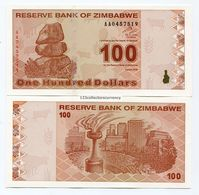 Zimbabwe $100 New Dollar 2009 Super Rare P97 Banknote - Zimbabwe