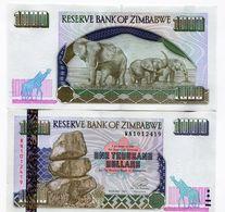 Zimbabwe 2003 1000 Dollars UNC Banknote Money P12 Sequential Notes - Zimbabwe
