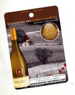 Fiche Visite Vigneron Terres Secretes - Publicités