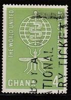 Ghana 1962 Malaria Eradication 4 P Multicoloured  SW 135 O Used - Ghana (1957-...)