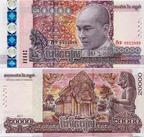 CAMBODIA       20,000 Riels     Comm.       P-New       2017 (2018)       UNC  [ 20000 ] - Cambogia
