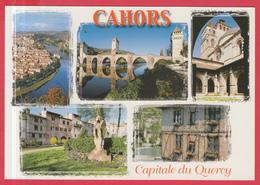 CPM-46- CAHORS - Capitale Du Quercy - Multivues - SUP**2 SCANS - Cahors