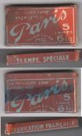 Lames De Rasoir Mécanique PARIS.Paquet Neuf. - Razor Blades