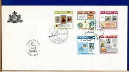 SAN MARINO  -  FDC 1988  -  COLLEZIONI FILATELICHE TEMATICHE - FDC