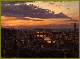 CP Italie,138 Ed.Innocenti-FIRENZE - Città D'incanto Al Tramonto-Wonderful City At Sunset - Contre La Lumière