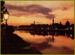 CP Italie,366  Ed.Innocenti-FIRENZE - Tramonto Sull'Arno-Sunset On Arno River - Contre La Lumière