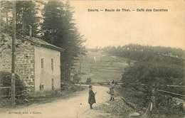 RHONE COURS  Route De Thel  CAFE DES COCOTTES - Cours-la-Ville