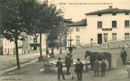 RHONE COURS  Place De La Bouverie - Cours-la-Ville