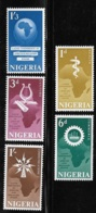 Nigeria 1962 Conference Head Of Government Map MNH - Nigeria (1961-...)
