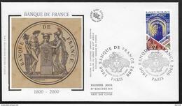 FRANCE N° 3299 BANQUE DE FRANCE CàD GF COMMEMORATIF PARIS SUR ENVELOPPE FDC - FDC