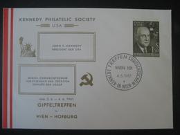 Österreich 1961- Gipfeltreffen In Wien Von Kennedy Und Chruschtschow In Der Hofburg 1961 - 1961-70 Covers