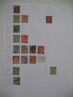 Perforé Perfin , Lot De Timbre Perforé Grande Bretagne : See Details, à Voir          ECD   /++++/  E&C°Ltd - Grande-Bretagne