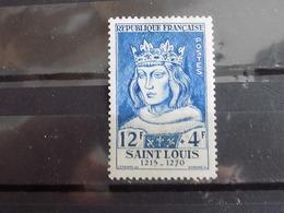 Timbre Neuf France 1954 : Louis IX Dit Saint Louis - France