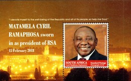 South Africa - 2018 President Ramaphosa MS (**) - Sud Africa (1961-...)