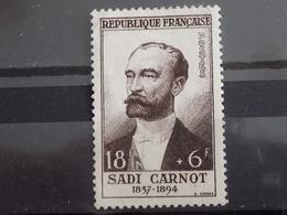 Timbre Neuf France 1954 : Sadi Carnot - France