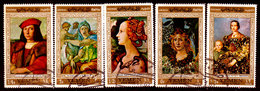 Yemen-0010 - Arte Pittorica (o) Used - Senza Difetti Occulti. - Yemen