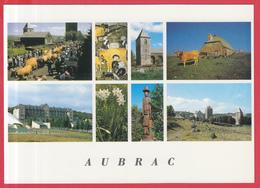 CPM-12 - AUBRAC - Village De Saint-Chély D'Aubrac -Multivues* SUP**2 SCANS - Altri Comuni