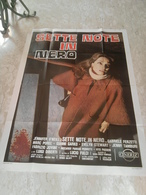 Manifesto Originale Sette Note In Nero Fulci Cult Movie - Manifesti & Poster
