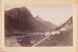 Photo Ancienne  Suisse  Splugen Rheinwald  Vers 1880 - Photos