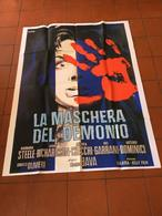 Manifesto La Maschera Del Demonio Bava Gotico Horror - Altri