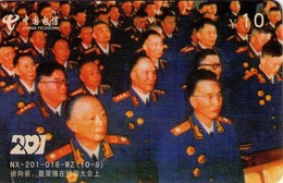 TARJETA TELEFONICA DE CHINA. MILITARES (134) - Armada