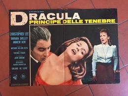 Dracula Horror Foto Busta Locandina Manifesto - Cinemania