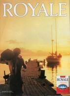 Ancienne Publicité Papier - Advertising Paper - Royale Allumettes - Publicités