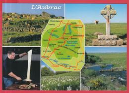 CPM-12-15-48- L'AUBRAC- Multivues -Croix De La Rode, L'Aligot,..SUP**2 SCANS - Unclassified