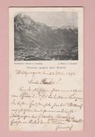 AK GL GLARUS Gegen Den Schilt Ges. 23.07.1898 Hazingen Nach Kitzingen D Photo V. J. Knobel - GL Glarus
