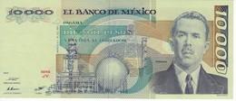 BILLETE DE MEXICO DE 10000 PESOS AÑO 1985 DE CARDENAS EN CALIDAD EBC (XF)  (BANKNOTE) - México