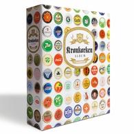 LEUCHTTURM ALBUM FOR BOTTLE CAPS GRANDE,WITH 5 SHEETS COMPART - Bier