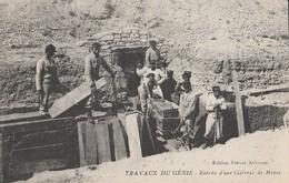CPA 30 VILLENEUVE Les AVIGNON TRAVAUX DU GENIE ENTREE GALERIE DE MINES - Villeneuve-lès-Avignon