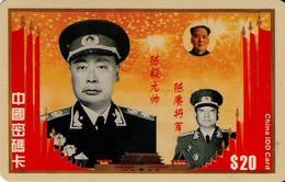 TARJETA TELEFONICA DE CHINA. MILITARES, IDD CARD (146) - Armada
