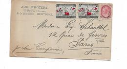 LETTRE  A EN TETE  NEW YORK - Postal Stationery