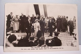 LONDRES    - The Festival Of Britain 1951 - The King And Queen And Queen Mary At The Exhibition - Altri