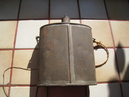 Bidon 1 Litre Epoque Second Empire - Equipment