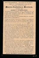 MARIA MORILON   ALVERINGHEM  1835    1899 - Obituary Notices