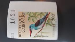 GABON 1989 BIRDS OISEAUX - IMPERF IMPERFORATE ND NON DENTELE - RARE MNH - Gabon (1960-...)