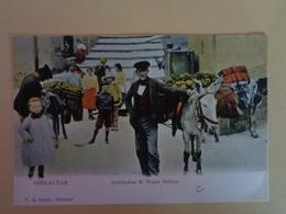 Gibraltar - Vendeur Ambulant D'artichauts - Street Merchants
