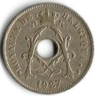 1 Pièce De Monnaie 10 Centimes 1927 Belgique Fr - 1909-1934: Albert I