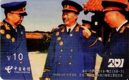 TARJETA TELEFONICA DE CHINA. MILITARES (155) - Army
