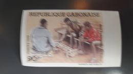 GABON - IMPERF IMPERFORATE ND NON DENTELE - RARE MNH - Gabon (1960-...)