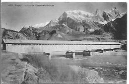 RAGAZ - Hölzerne Eisenbahnbrûcke - SG St. Gall