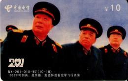 TARJETA TELEFONICA DE CHINA. MILITARES (165) - Army