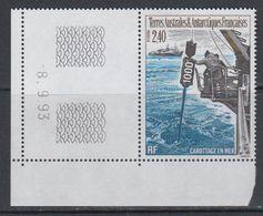 TAAF 1994 Carottage De Mer 1v (corner, Printing Date) ** Mnh (40893) - Franse Zuidelijke En Antarctische Gebieden (TAAF)