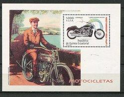 Guinée équatoriale ** Bloc N° 18 - Moto / Harley Davidson - Equatorial Guinea