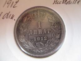 Serbie 1 Dinar 1912 - Serbie