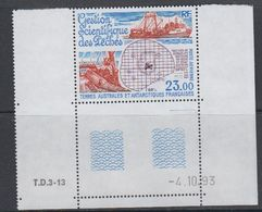 TAAF 1994 Gestion Scientifique Des Péches 1v (corner, Printing Date) ** Mnh (40893A) - Franse Zuidelijke En Antarctische Gebieden (TAAF)