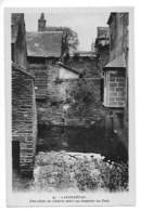 LANDERNEAU  (cpa 29)  Une Chûte De L'Elorn Entre Les Maisons Du Pont. -  L 1 - Landerneau